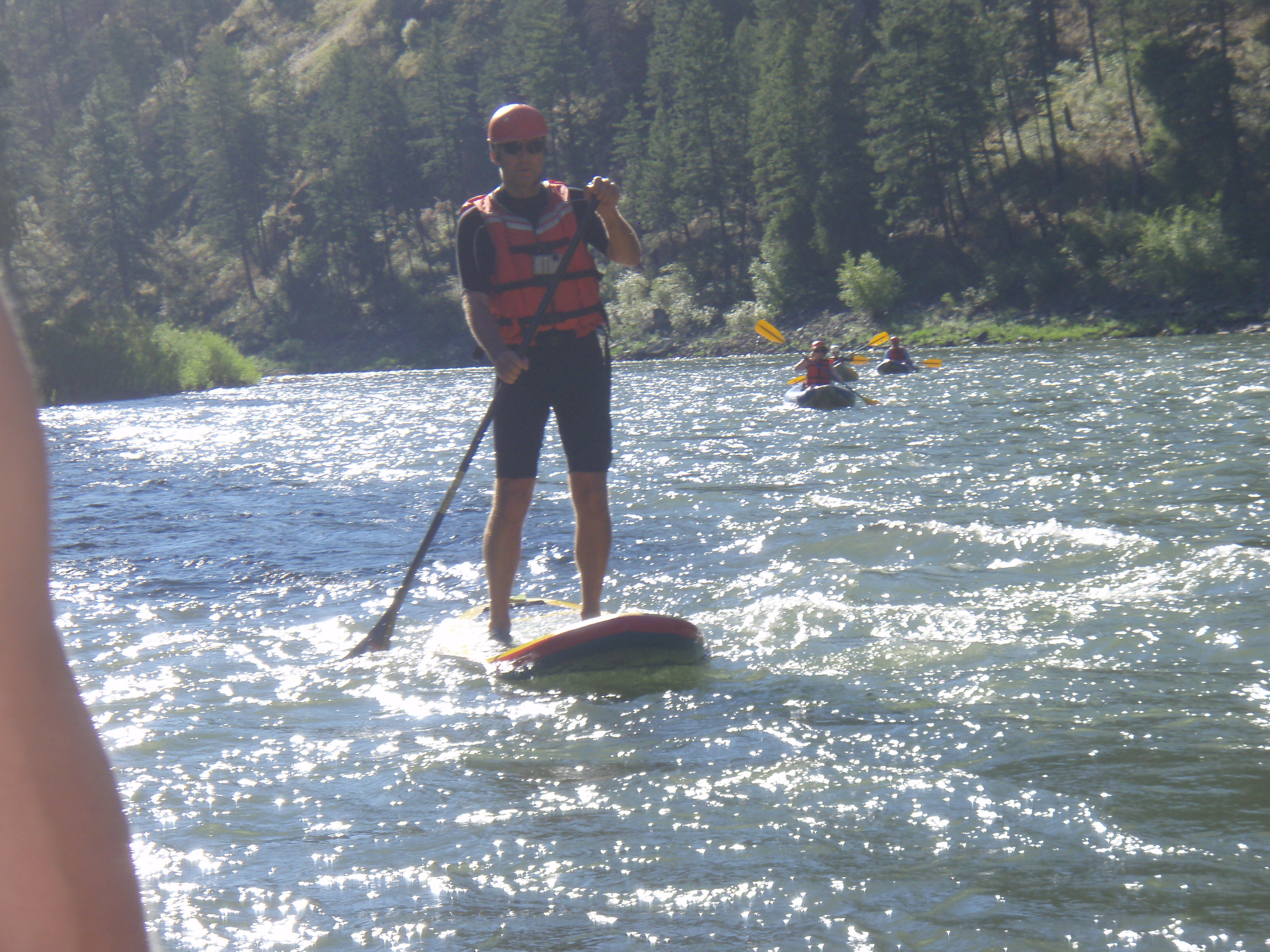 39883c7aaf34b Stand Up Paddling (SUP) the Middle Fork and Main Salmon Rivers in Idaho