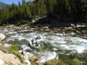 Drift Boat Fly Fishing on the Middle Fork of the Salmon River in Idaho
