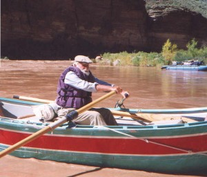 Grand Canyon Dory Rowed by Martin Litton