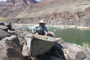 Bert Loper Boat in Grand Canyon, Arizona