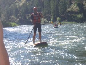 Stand Up Paddling (SUP) the Middle Fork and Main Salmon Rivers in Idaho
